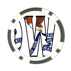 Iowa Poker Chip
