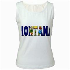 Montana Womens  Tank Top (white) by worldbanners