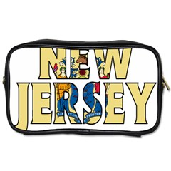 New Jersey Travel Toiletry Bag (one Side) by worldbanners