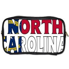 N Carolina Travel Toiletry Bag (One Side)