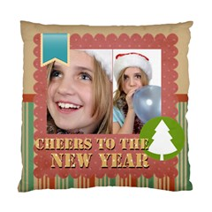 New Year By New Year   Standard Cushion Case (two Sides)   Etcklyhuj348   Www Artscow Com Back