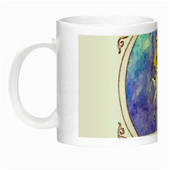 Framed Unicorn Glow In The Dark Mug by mysticalimages