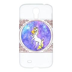 Framed Unicorn Samsung Galaxy S4 I9500 Hardshell Case by mysticalimages