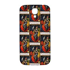 Halloween Vintage Samsung Galaxy S4 I9500 Hardshell Back Case by EndlessVintage