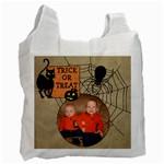 Trick or Treat Bag - Recycle Bag (One Side)