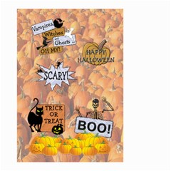 Halloween Small Garden Flag (2 Sides) By Lil    Small Garden Flag (two Sides)   Qfwrm5mu62he   Www Artscow Com Back