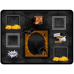 Halloween Extra Large Fleece Blanket - Fleece Blanket (Large)