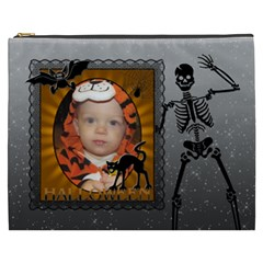 Halloween Xxxl Cosmetic Bag By Lil    Cosmetic Bag (xxxl)   Nkzonut48il1   Www Artscow Com Front