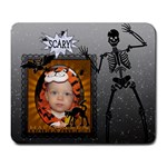 Scary Halloween Large Mousepad