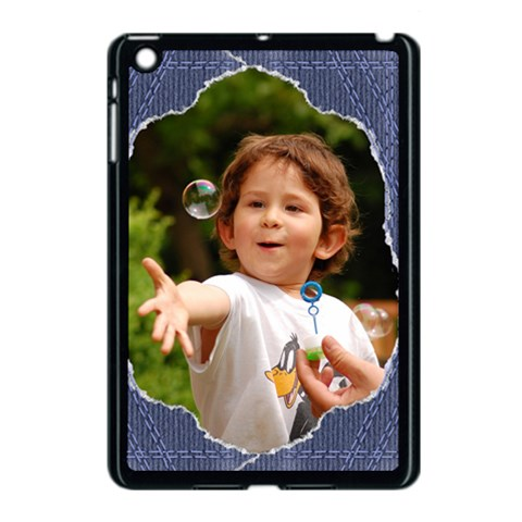 Jean Apple Ipad Mini Case (black) By Deborah   Apple Ipad Mini Case (black)   I8ogug9q4yjj   Www Artscow Com Front