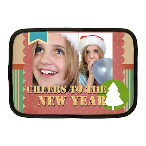 New Year By New Year   Netbook Case (medium)   Em6h6v0hojzr   Www Artscow Com Front