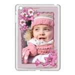 Floral Apple iPad Mini Case (white)