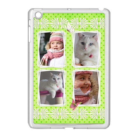 Princess Apple Ipad Mini Case (white) By Deborah   Apple Ipad Mini Case (white)   849vh87bp82f   Www Artscow Com Front