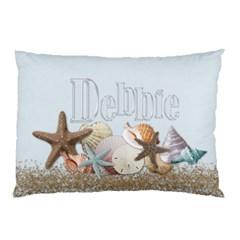 Debbie Cabin Pillowcase By Debbie   Pillow Case (two Sides)   Rb1ifuk27vpa   Www Artscow Com Back