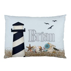 Brian Cabin Pillowcase By Debbie   Pillow Case (two Sides)   Y4w32eodbng6   Www Artscow Com Back