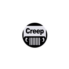 Creep Logo 1  Mini Button Magnet by Contest1703156