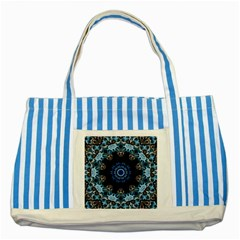 Smoke Art 2 Blue Striped Tote Bag by smokeart