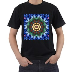 Smoke Art  (10) Mens' T Shirt (black)