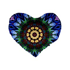 Smoke Art  (10) 16  Premium Heart Shape Cushion  by smokeart