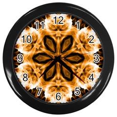Smoke Art (12) Wall Clock (black) by smokeart
