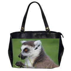 Ring Tailed Lemur  2 Oversize Office Handbag (two Sides) by smokeart