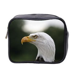 Bald Eagle (1) Mini Travel Toiletry Bag (two Sides) by smokeart