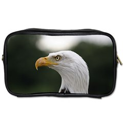 Bald Eagle (1) Travel Toiletry Bag (one Side) by smokeart