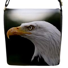 Bald Eagle (1) Flap Closure Messenger Bag (small) by smokeart