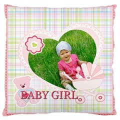 Baby By Jacob   Large Cushion Case (two Sides)   5r2r9d8xb5f1   Www Artscow Com Front