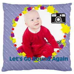 Baby By May   Large Cushion Case (two Sides)   F44pd9i0waxq   Www Artscow Com Front