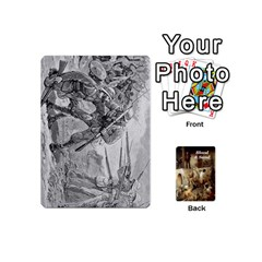 Blood & Sand Deck By Risaldar Singh   Playing Cards 54 (mini)   Q23322m2a6yi   Www Artscow Com Front - Spade10
