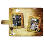 Memories Samsung Galaxy Note 2 Leather folio Case