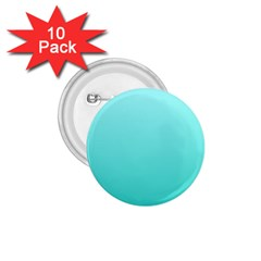 Celeste To Turquoise Gradient 1 75  Button (10 Pack) by BestCustomGiftsForYou