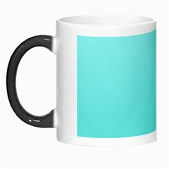 Celeste To Turquoise Gradient Morph Mug by BestCustomGiftsForYou