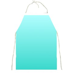 Celeste To Turquoise Gradient Apron by BestCustomGiftsForYou