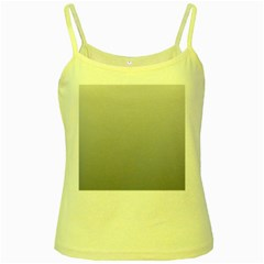 Gainsboro To Roman Silver Gradient Yellow Spaghetti Tank by BestCustomGiftsForYou
