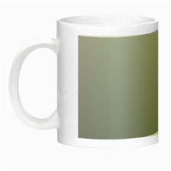Gainsboro To Roman Silver Gradient Glow In The Dark Mug by BestCustomGiftsForYou