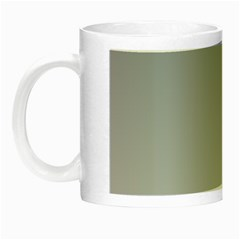 Roman Silver To Gainsboro Gradient Glow In The Dark Mug by BestCustomGiftsForYou