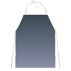 Charcoal To Cool Gray Gradient Apron by BestCustomGiftsForYou