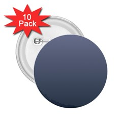 Cool Gray To Charcoal Gradient 2.25  Button (10 pack) by BestCustomGiftsForYou