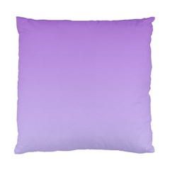 Lavender To Pale Lavender Gradient Cushion Case (one Side) by BestCustomGiftsForYou