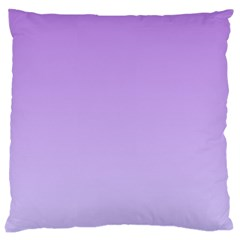 Lavender To Pale Lavender Gradient Large Cushion Case (One Side)