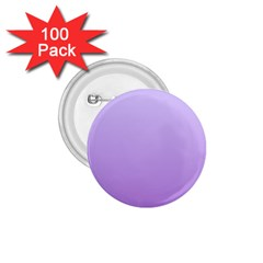 Pale Lavender To Lavender Gradient 1 75  Button (100 Pack) by BestCustomGiftsForYou