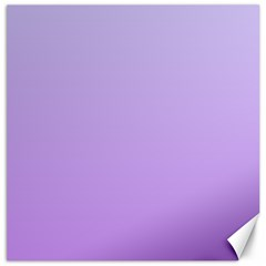 Pale Lavender To Lavender Gradient Canvas 20  X 20  (unframed) by BestCustomGiftsForYou