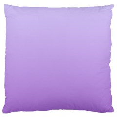 Pale Lavender To Lavender Gradient Large Cushion Case (one Side) by BestCustomGiftsForYou