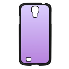 Pale Lavender To Lavender Gradient Samsung Galaxy S4 I9500 (black)