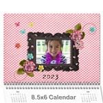 Wall Calendar 8.5 x 6 - pink Sweet Life - Wall Calendar 8.5  x 6