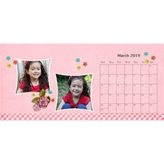 Desktop Calendar 11  X 5   Pink Sweet Life By Jennyl   Desktop Calendar 11  X 5    16swl1ts6tri   Www Artscow Com Mar 2016