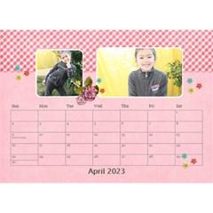 Desktop Calendar 8 5  X 6    Pink Sweet Life By Jennyl   Desktop Calendar 8 5  X 6    Ljka5btot2td   Www Artscow Com Apr 2016