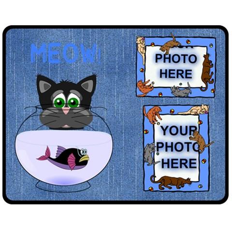 Cat Lover s Medium Blanket By Joy Johns   Fleece Blanket (medium)   B8xio3o7tgr3   Www Artscow Com 60 x50 Blanket Front